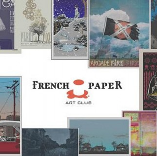 french paper art club