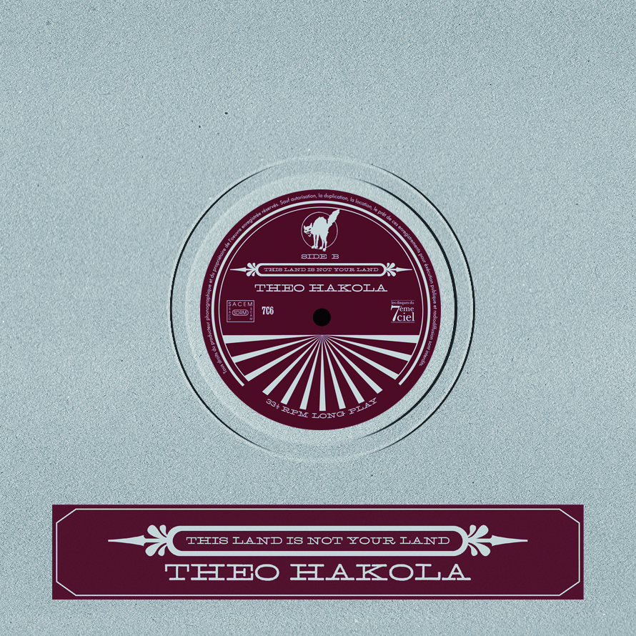 Theo Hakola – This Land Is Not Your Land – cover art