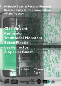 Flyers Train Tracks Release Party