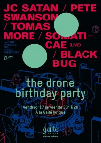 the drone bday party