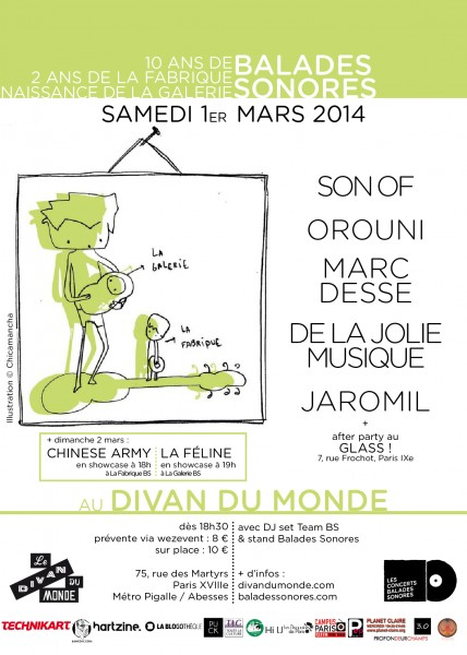 Anniversaire Balades Sonores : Son Of