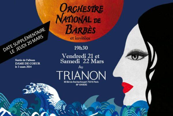 visuel site web annonce concert Trianon