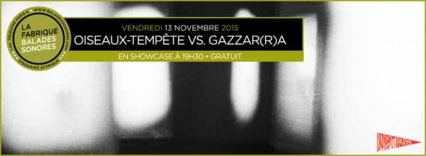 showcase OISEAUX TEMPETE GAZZARRA Balades Sonores