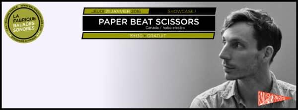 showcase PAPER BEAT SCISSORS balades sonores