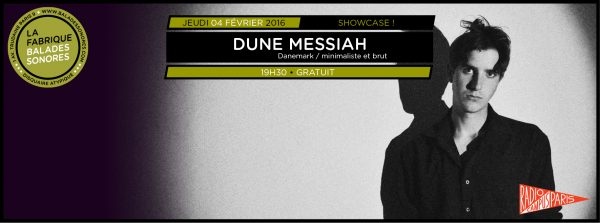 showcase DUNE MESSIAH balades sonores