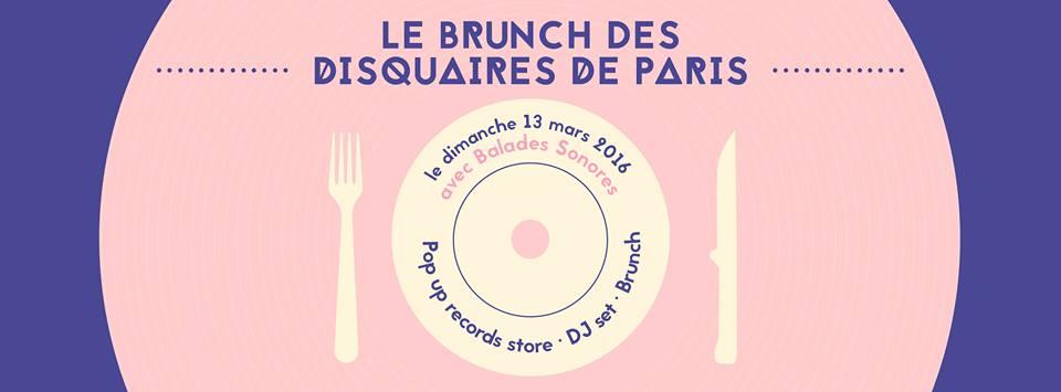 Brunch Vinyle - Les disquaires de Paris