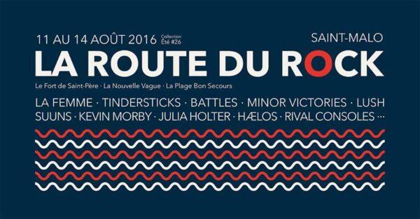 route du rock 2016
