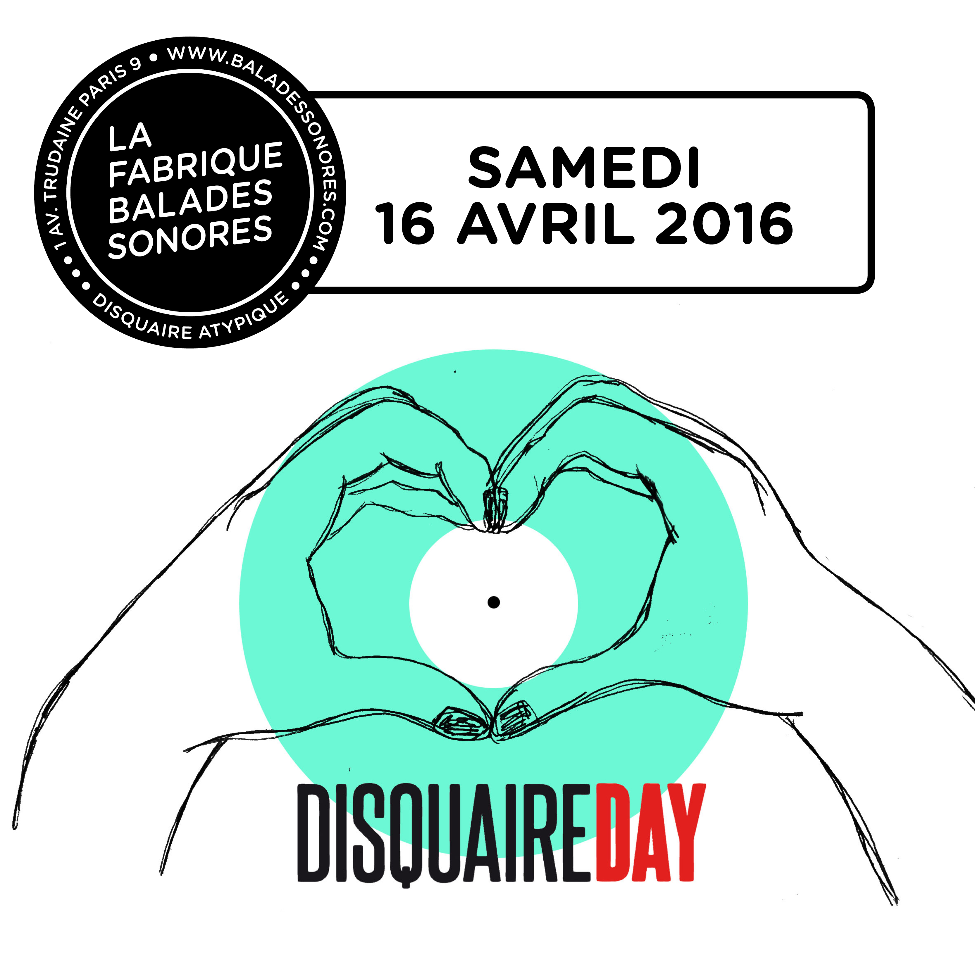 Disquaire day 2016 balades sonores