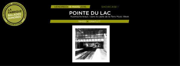 showcase POINTE DU LAC balades sonores