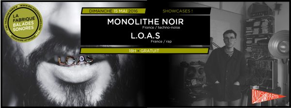 showcase MONOLITHE NOIR LOAS
