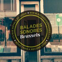 Balades Sonores Brussels, 173 rue Royale 1210 Bruxelles, More than a record shop