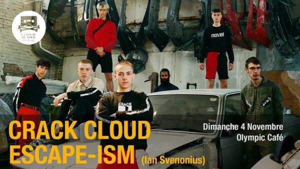 Crack Cloud + Escape-ism Bannière
