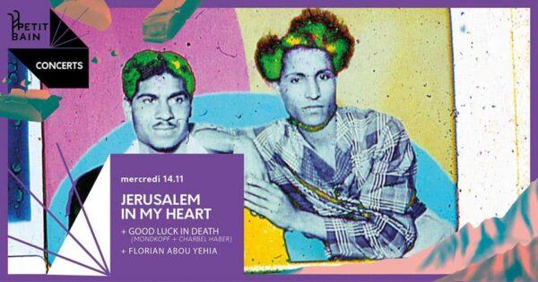 jerusalemn in My Heart bannière