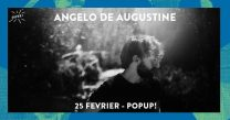 Angelo de Augustine en concert à Paris le 25 février 2019 au Pop Up du Label