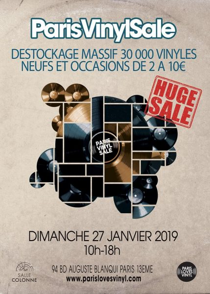 paris vinyl sale