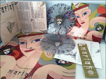 MARIAHUTAKATA NO HIBI (multicolor/clear limité à 100 copies, numéroté)