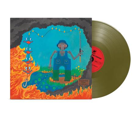 King Gizzard and the Lizard Wizard - Fishing For Fishies - gold vinyl LP (2019)