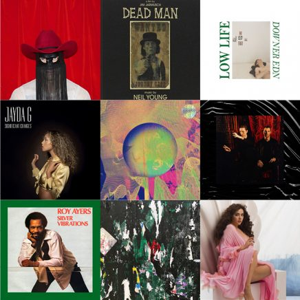 Orville Peck Pony, Jim Jarmusch's Dead Man music by Neil Young, Low Life Downer EDN, Jayda G Significant Changes, Apparat LP5, These New Puritans Inside The Rose, Roy Ayers Silver Vibrations, Vendredi Sur Mer Premiers émois… : nouveaux arrivages vinyle balades sonores 21 mars 2019