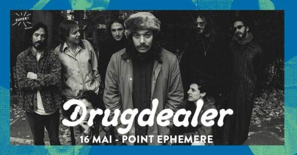 DrugDealer au Point Ephémère