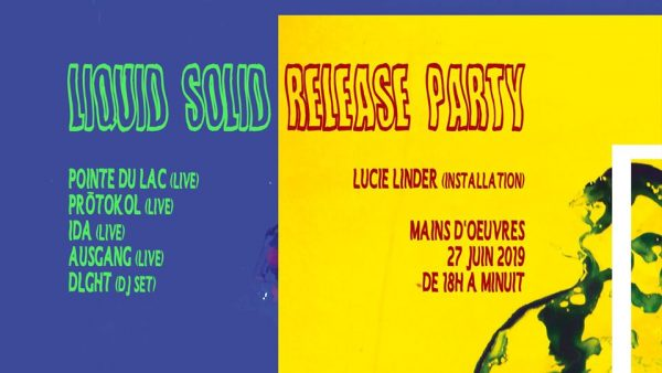 Liquid Solid - Release Party