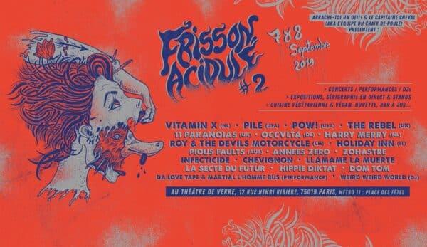 Festival Frisson Acidulé