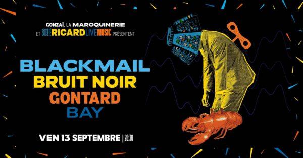 Gonzai Night Black Mail Bruit Noir etc