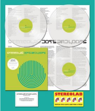 Stereolab - Dots And Loops, réédition vinyle Warp 2019