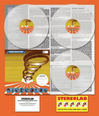 Stereolab - Emperor Tomato Ketchup, réédition vinyle Warp 2019