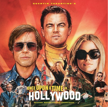 Quentin tarantino's Once Upon A Time In Hollywood original motion picture soundtrack (OST, vinyle LP 2019)