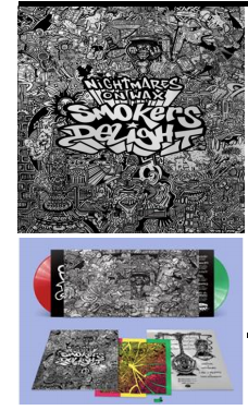 NIGHTMARES ON WAX Smokers Delight (25th anniversary Réédition 2LP vert/rouge)