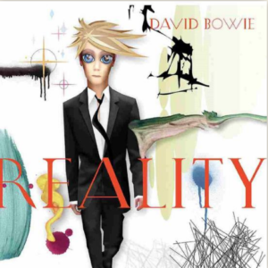 David Bowie Reality (LP swirl)