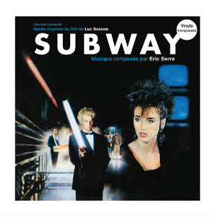 ERIC SERRA Subway (LP transparent)