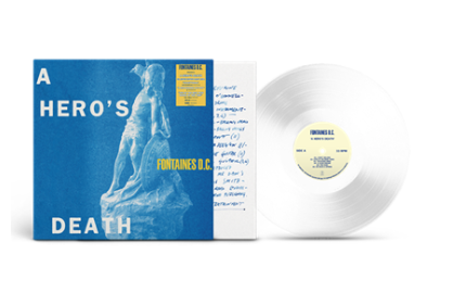 Fontaines D.C. A Hero's Death (Lp Clear)