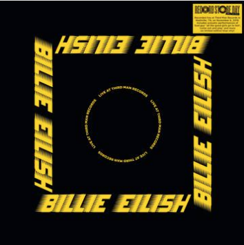 Billie Eilish Live At Third Man Records (Opaque Blue Vinyl, exclusive poster, limited to 11000, indie exclusive)