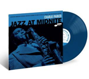 Charlie Parker - Jazz At Midnight [LP] (Midnight Blue Colored Vinyl, first time on vinyl, original liner notes from producer Bill Potts, limited to 4000, indie advance exclusive)