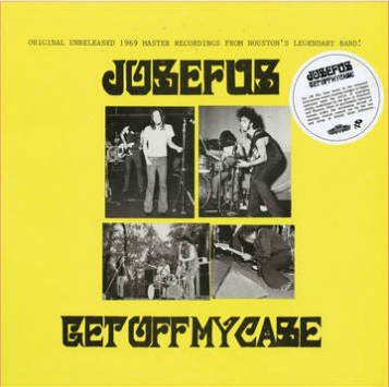 Josefus Get Off My Case (8 page booklet, limited, indie exclusive)