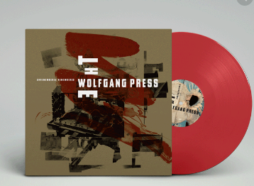 THE WOLFGANG PRESS UNREMEMBERED, REMEMBERED (red vinyl RSD)