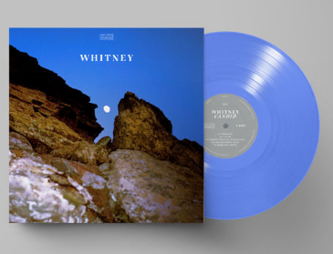WHITNEY Candid (LP exclu indie color bleu clair)