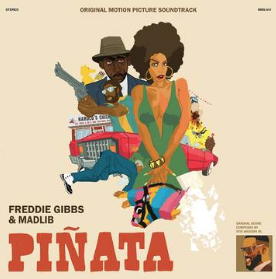 Freddie Gibbs & Madlib Pinata: The 1974 Version (unique cover for RSD 24 Octobre, indie exclusive, limited to 2000)