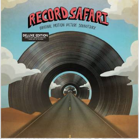Various Artists Record Safari (Soundtrack Deluxe Edition, Clear Vinyl embeded with pieces of the actual film, feat, Bikini Kill, Atmosphere & more, ltd. to 200, indie advance exclusive RSD 24 Octobre)