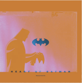 Makeup And Vanity Set Heart Of Batman (Soundtrack Tri-Color Split Green, Purple, White 150 Gram Vinyl, DELUXE BATMAN WING EXPANDING GATEFOLD, limited to 1000, indie-exclusive RSD 24 Octobre)