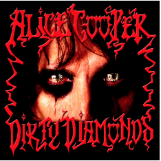 ALICE COOPER DIRTY DIAMONDS (Lp Rouge num. RSD 24 octobre)