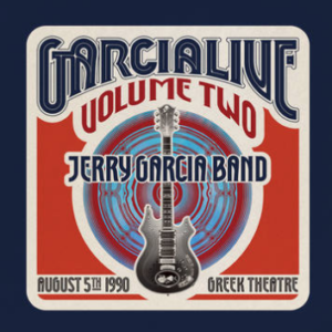 Jerry Garcia Band GarciaLive Volume Two: August 5th, 1990 Greek Theatre (first time on vinyl, limited to 4000, indie-exclusive Black Friday 2020)