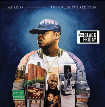 Jadakiss The Collector's Edition (Blue Vinyl, 6 acapellas & 6 Instrumentals, first time on vinyl, limited to 1500, indie advance-exclusive Black Friday 2020)