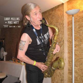Larry Mullins + Mike Watt 1970 (parts I and II): A Tribute to The Stooges (RANDOM Colored OR Black Vinyl, limited to 1000, indie-exclusive Black Friday 2020)