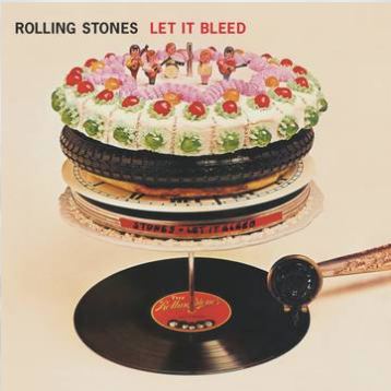 The Rolling Stones Let It Bleed (Collector's Edition Hand-Poured Multi-Colored Vinyl, each piece is unique in design, hand-numbered COA, limited to 900, indie-exclusive Black Friday 2020)