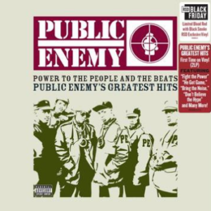 Public Enemy Power To The People And The Beats - Public Enemy's Greatest Hits (Blood Red with Black Smoke Vinyl, first time on vinyl, limited to 7000, indie advance-exclusive Black Friday 2020)