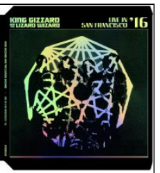 King Gizzard & The Lizard Wizard Live In San Francisco 16 (indie LP rouge)