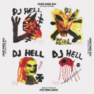 DJ HELL HOUSE MUSIC BOX -PAST, PRESENT, NO FUTURE - (2LP, Crystal Clear Vinyl)
