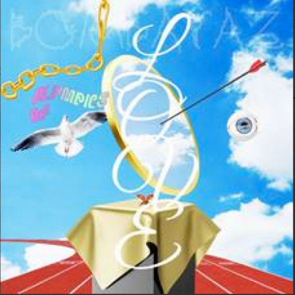BOMBATAZ OLYMPICS OF LOVE (marbled coloured vinyl)
